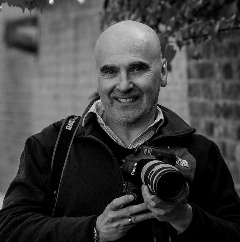 portrait of photographer Alex Lentati