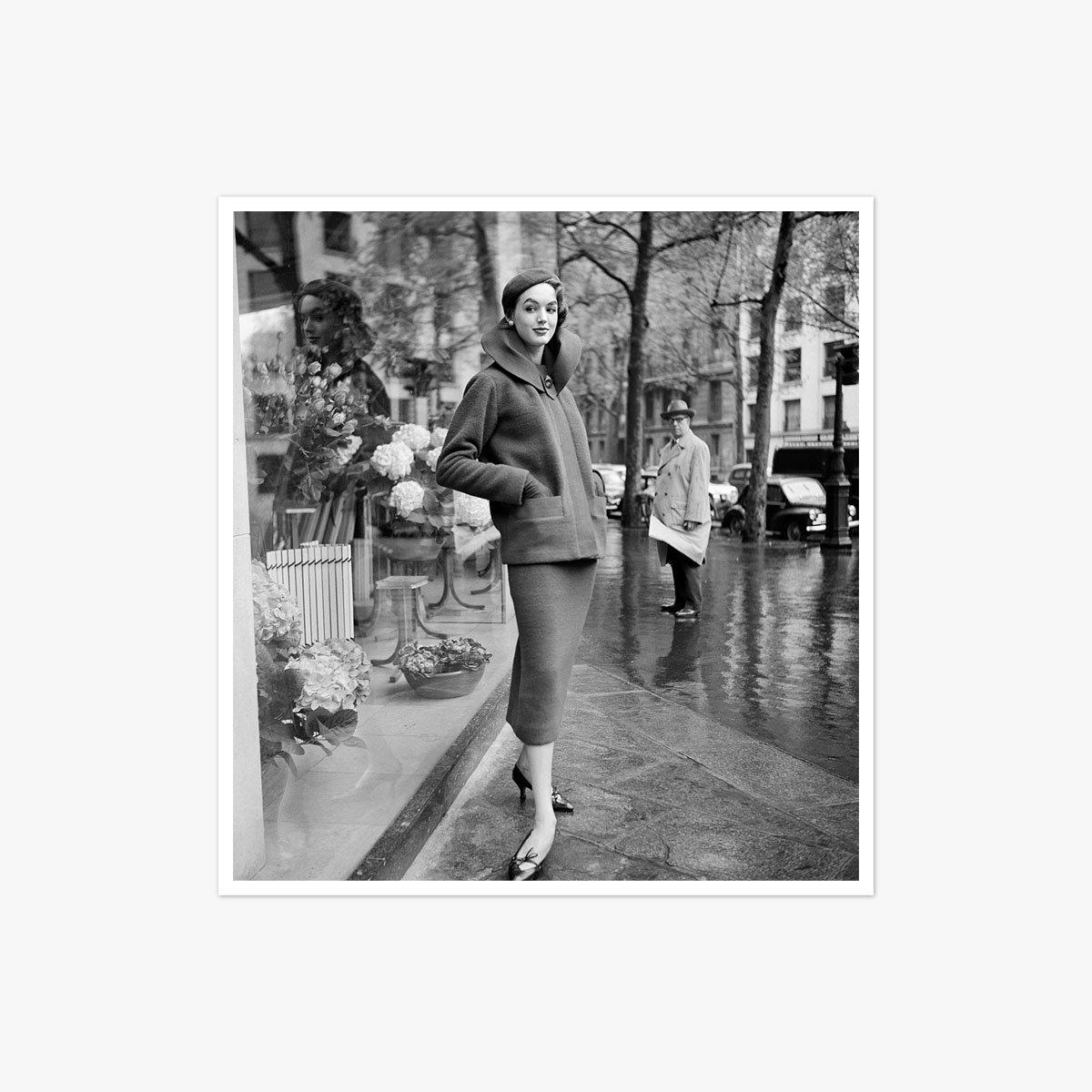 Paris 1950 on a Rainy Day by Marilyn Stafford
