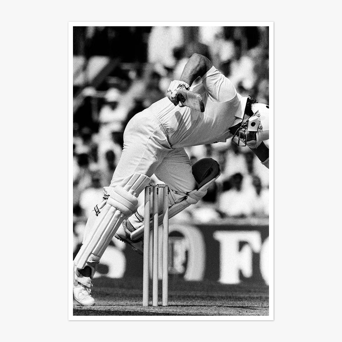 Botham Struggles To Get his Leg Over by David Ashdown