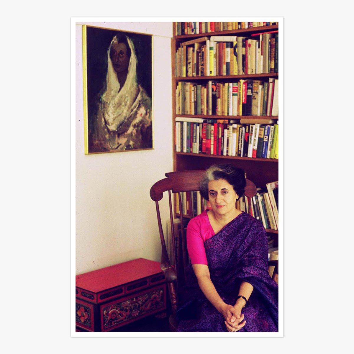 Indira Gandhi by Marilyn Stafford