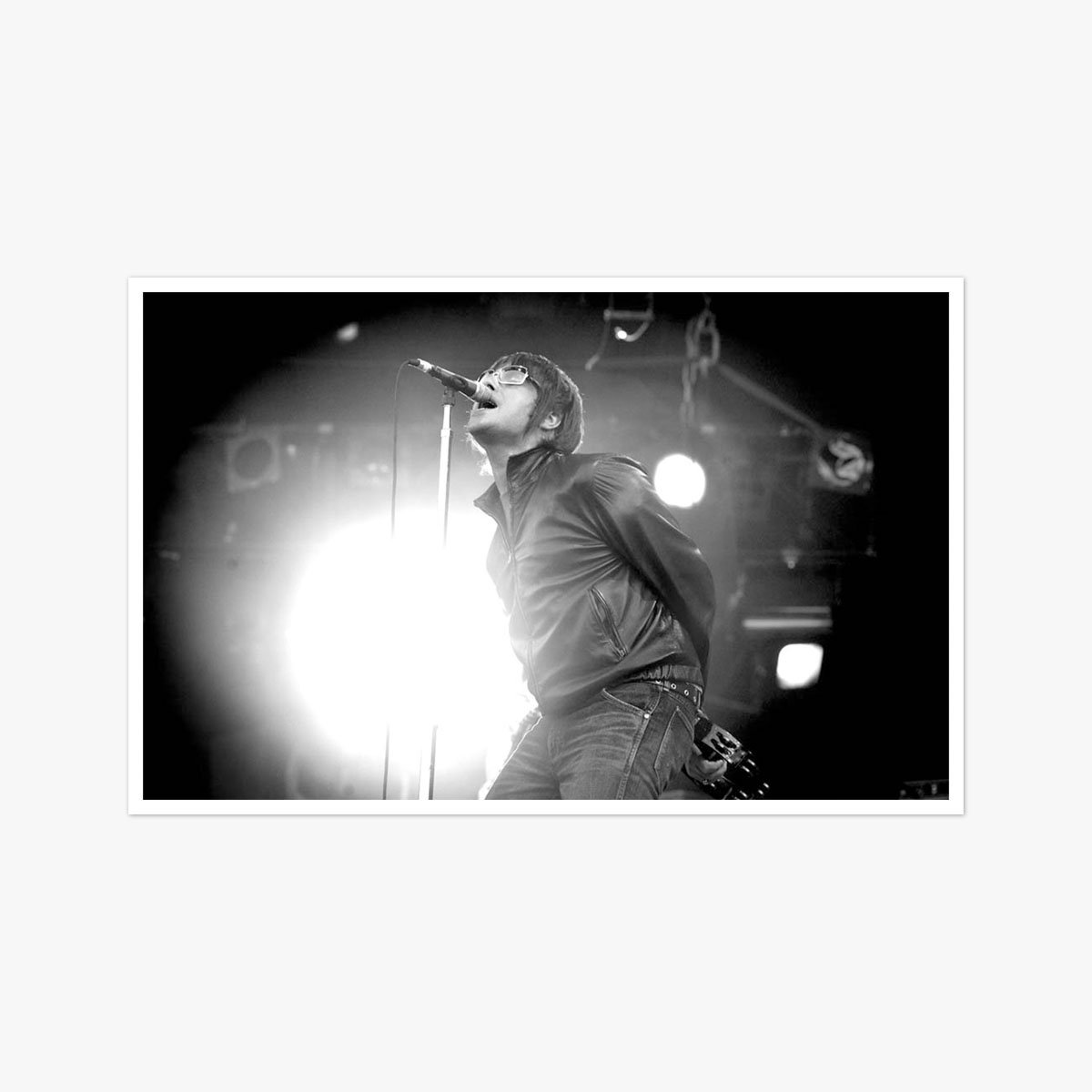 Liam Gallagher performing at Finsbury Park by Andy Paradise