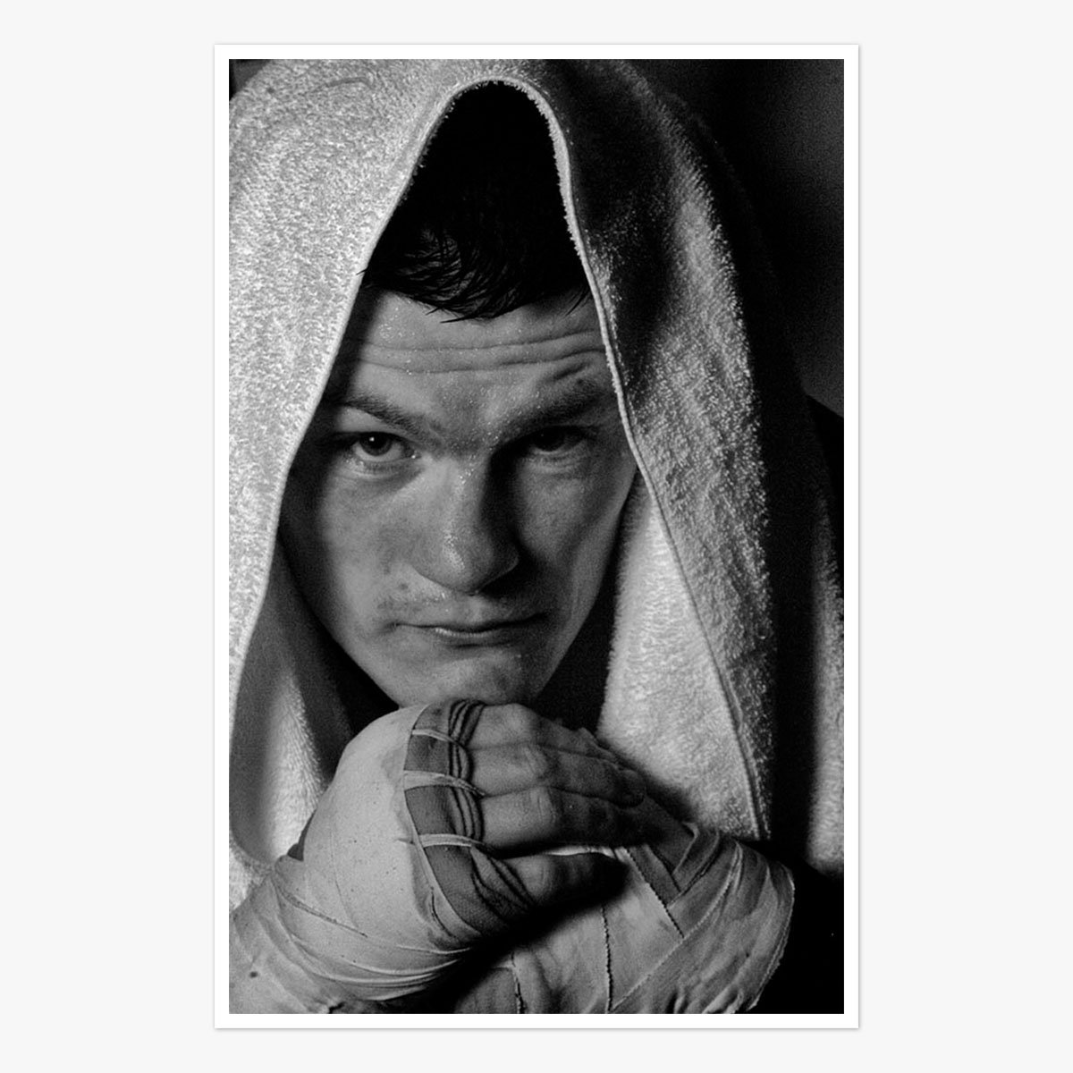 Ricky Hatton trains for Juan Luis Castillo by Michael Brennan