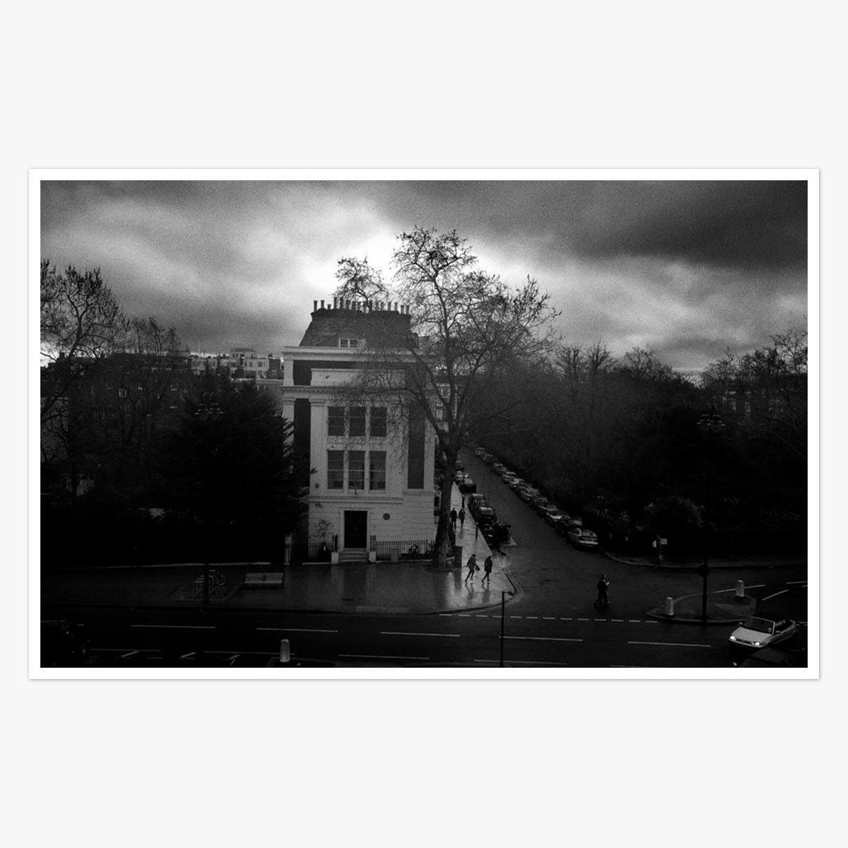 London in the Rain by Brian Harris