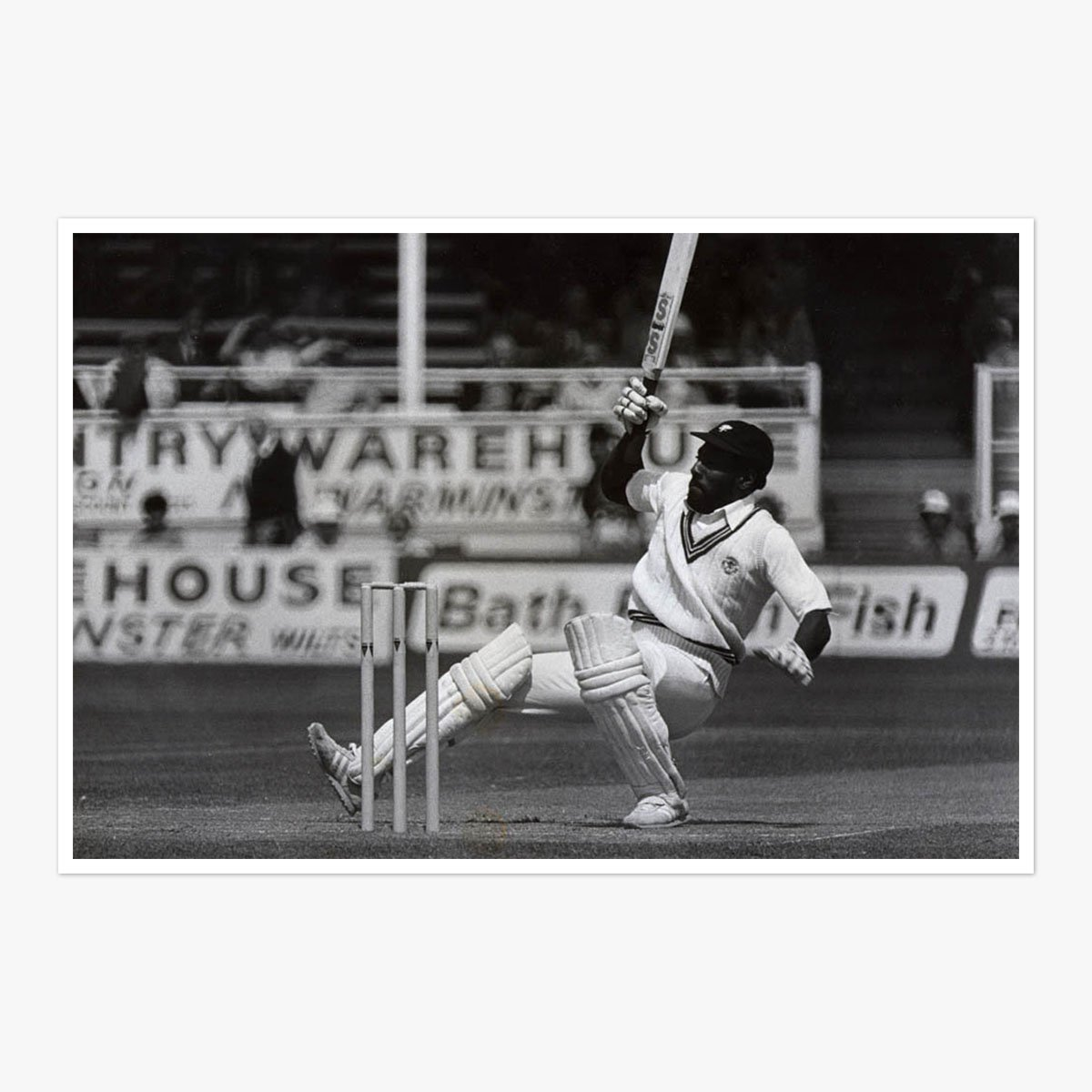 Viv Richards by Richard Lappas