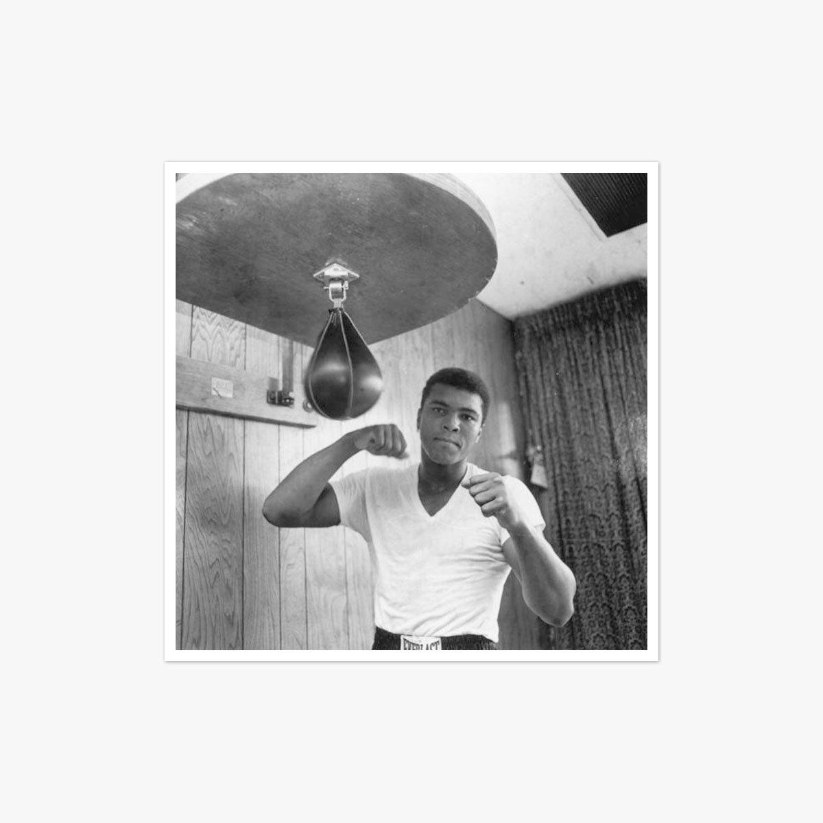 Ali In Training by Harry Benson