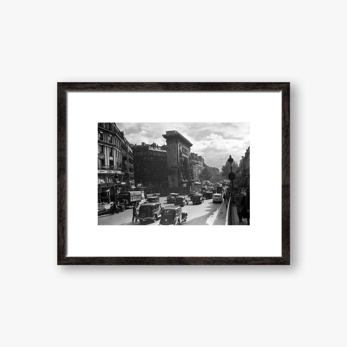 Boulevard St Martin Paris by Frank Rust