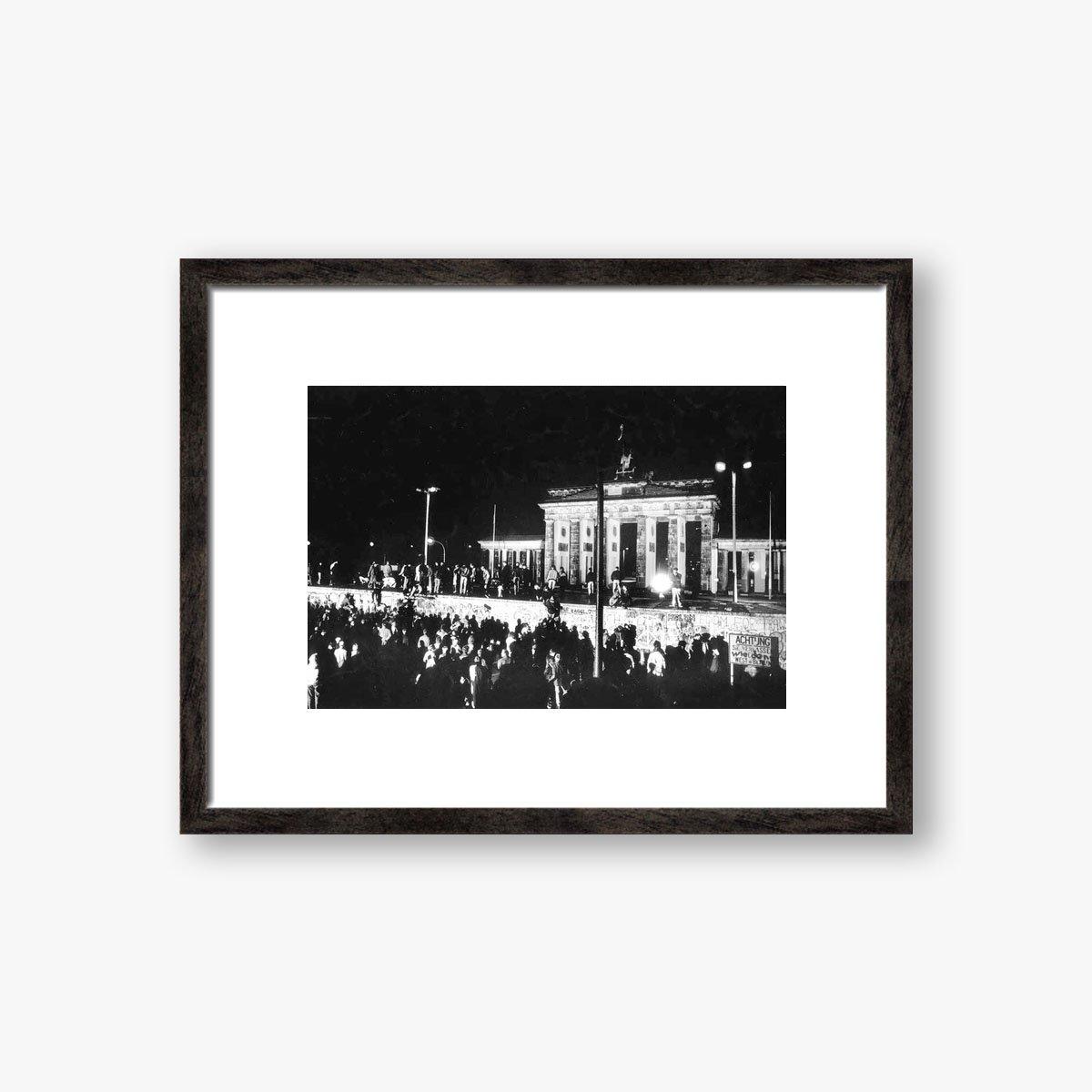 Germany, Berlin Wall Brandenburg Gate by Brian Harris