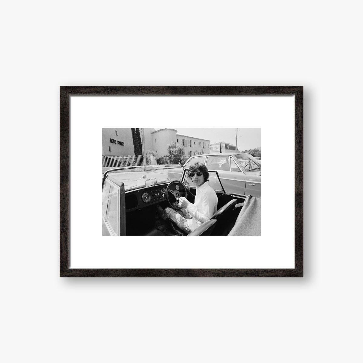 Mick Jagger In France by Reg Lancaster