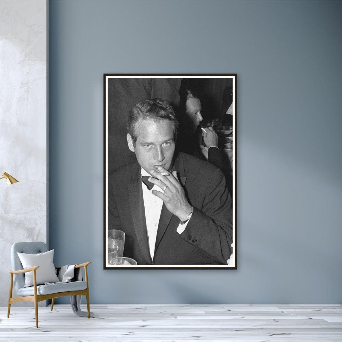 Paul Newman by Bill Lovelace