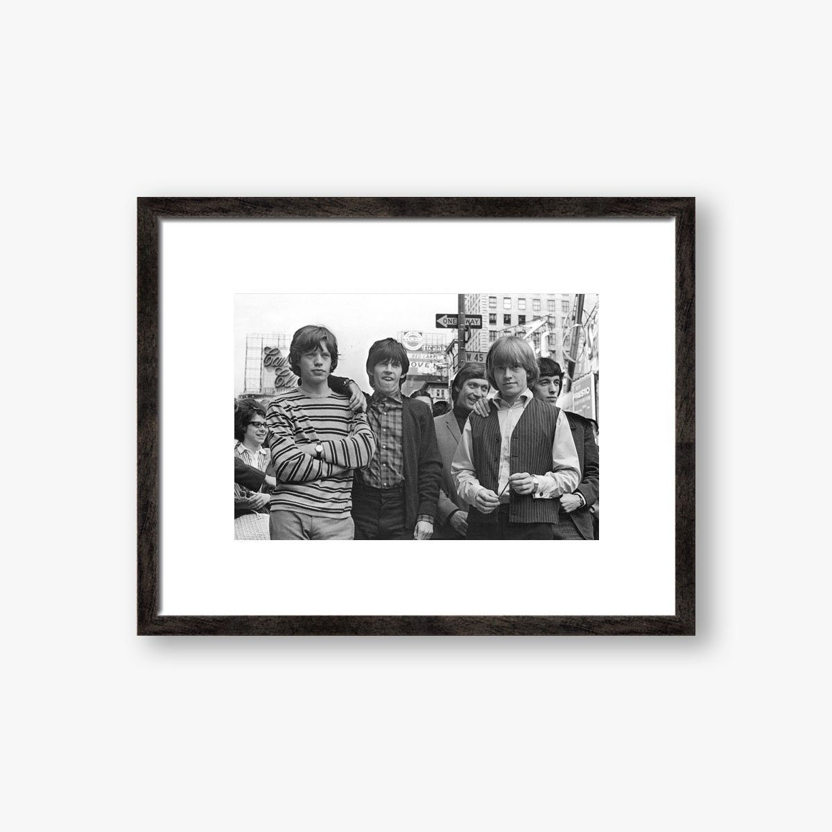 Rolling Stones In New York by Bill Lovelace