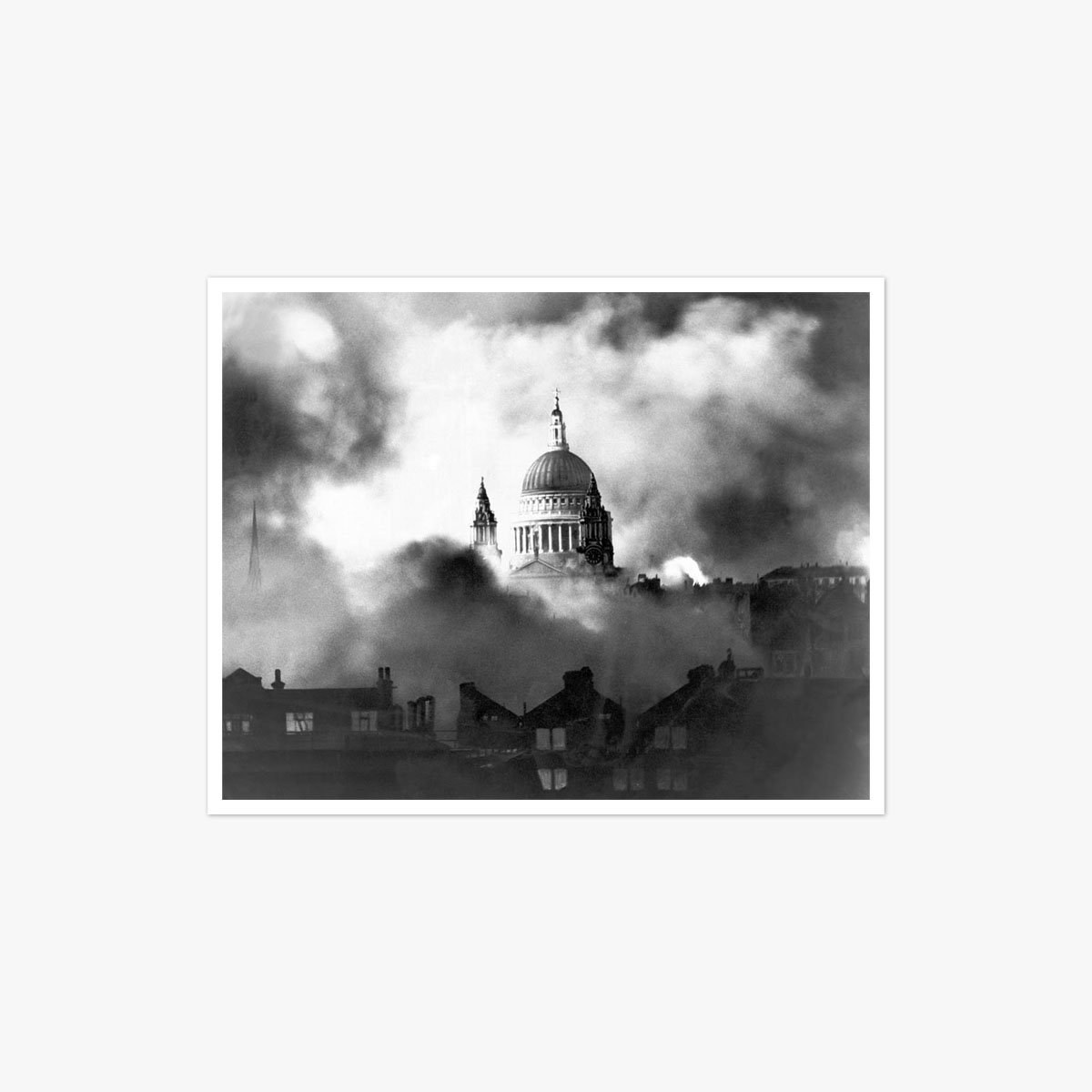 St. Paul's In The Blitz by Herbert Mason
