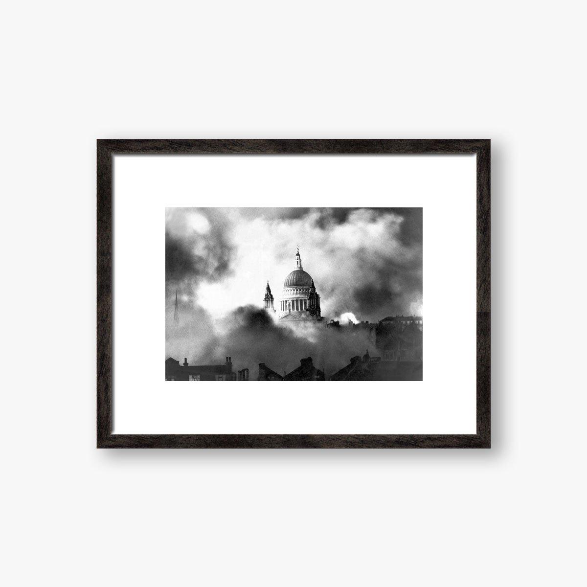 St. Paul's In The Blitz by Herbert Mason