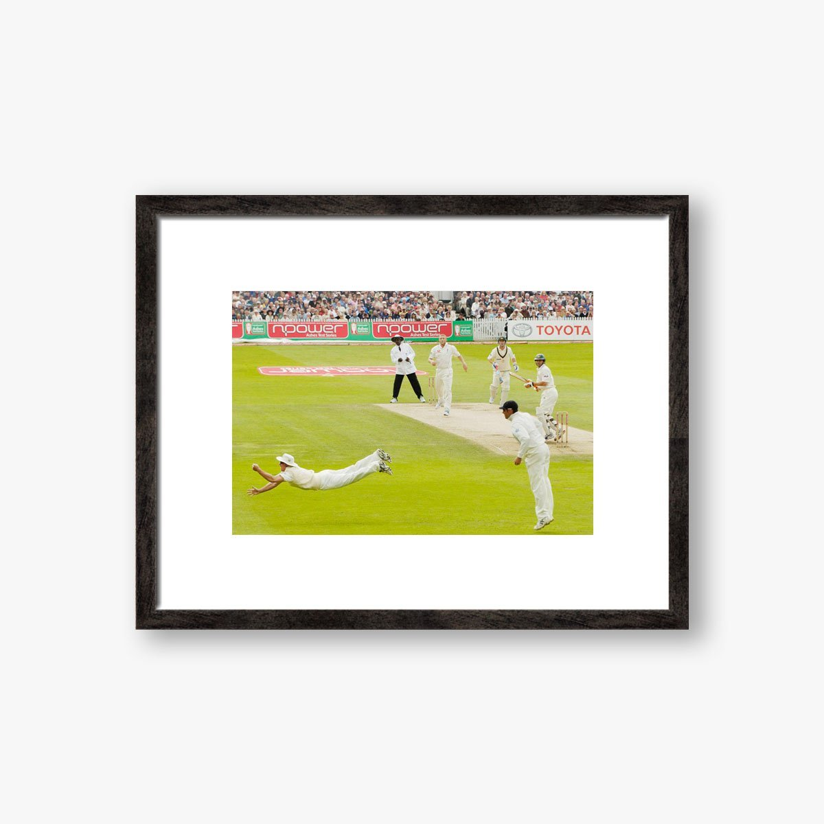 Strauss' 2005 Ashes Catch by David Ashdown