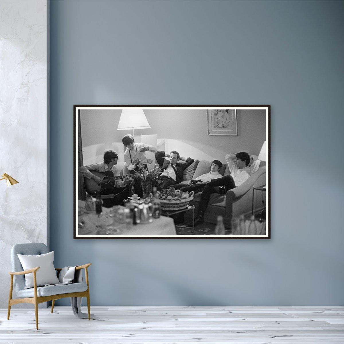 The Beatles In Paris by Harry Benson