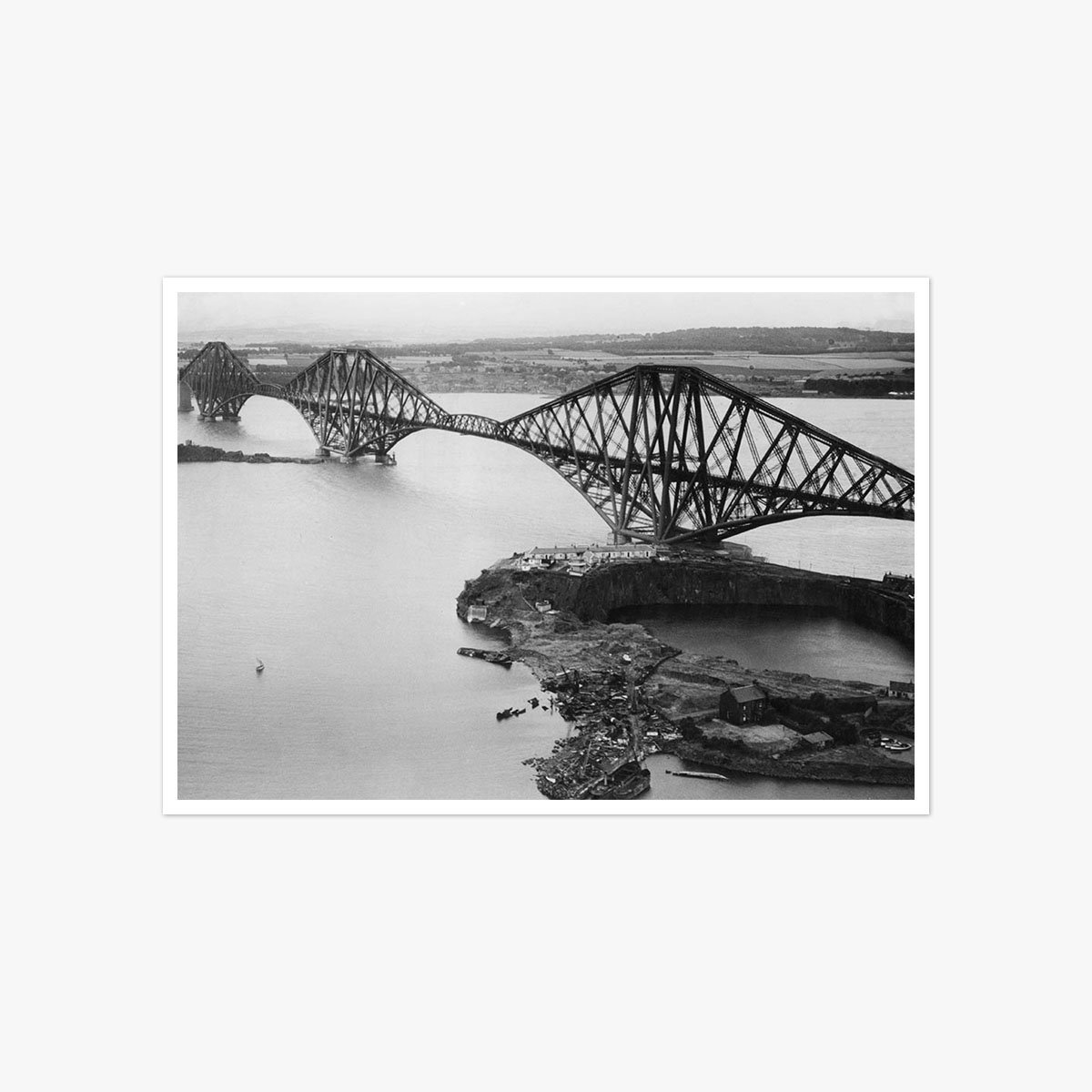 The Forth Rail Bridge by Frank Rust