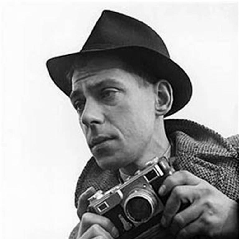 Portrait of photographer Bert Hardy
